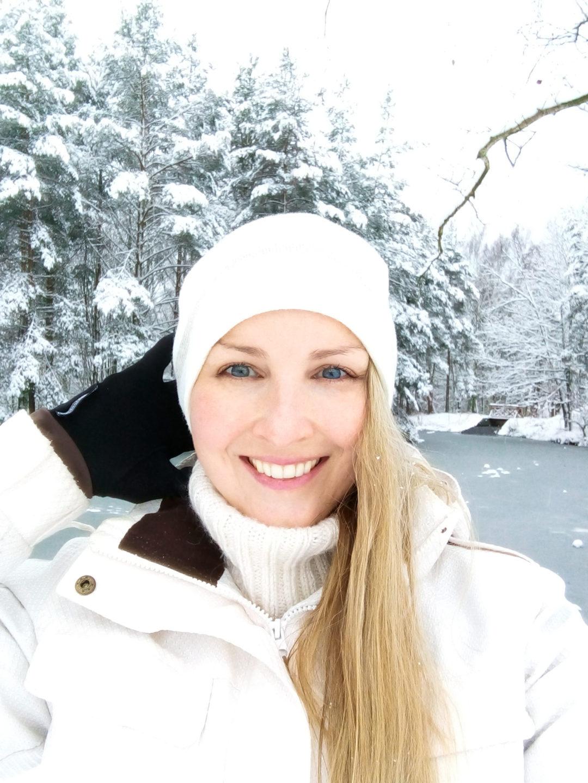 Snowy outdoor