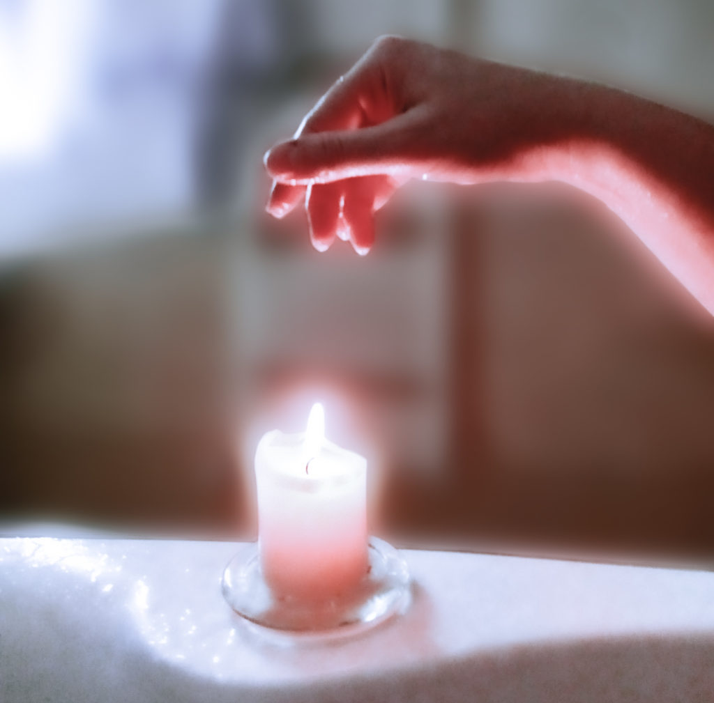 Candle light relaxation